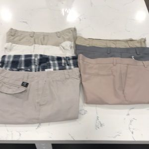 Set of 7 pairs of Men's size 34 Shorts